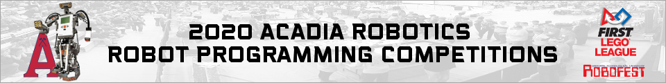 Acadia Robot Programming Competitions